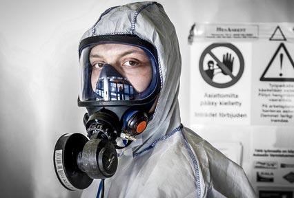 Asbesti- ja haitta-ainepurku
